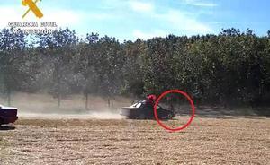 Investigado por matar a una vaquilla tras hostigarla con un coche en el campo