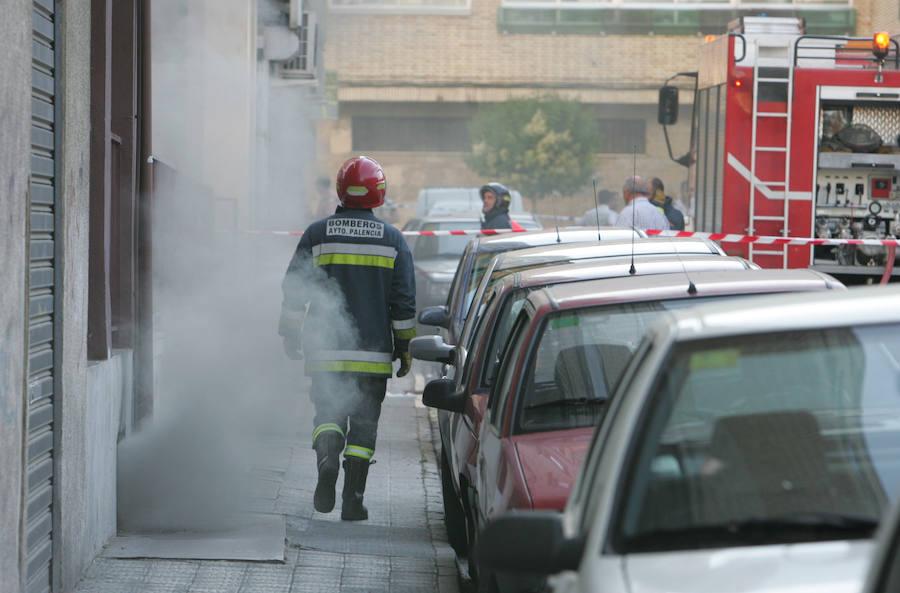 Investigan a un trabajador municipal de Palencia por un delito de incendio en un garaje