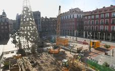 El ascensor de la Plaza Mayor de Valladolid se instalará cerca de las escaleras situadas junto a la calle Lencería