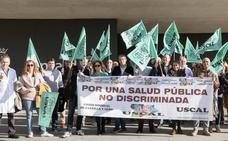 La huelga de veterinarios provoca el cierre del matadero de Campofrío