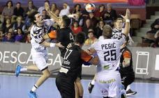Derrota del Recoletas Atlético Valladolid ante el Ademar León (33-25)