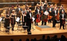 Homenaje a Jesús López Cobos en el Auditorio Miguel Delibes de Valladolid