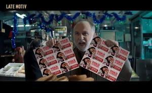 'Late Motiv' parodia con Rosalía el anuncio de la Lotería de Navidad
