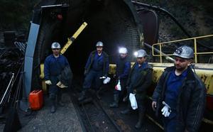 El último día en la mina