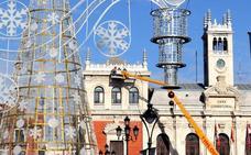 El encendido de las luces de Navidad tendrá lugar el 1 de diciembre en Valladolid