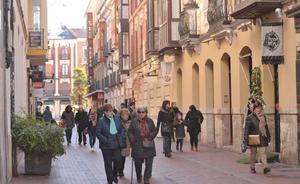 Sorprenden a un ladrón debajo del mostrador de una tienda de la calle Montero Calvo de Valladolid