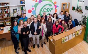 CSIF presenta 184 candidatos a las elecciones sindicales docentes no universitarias