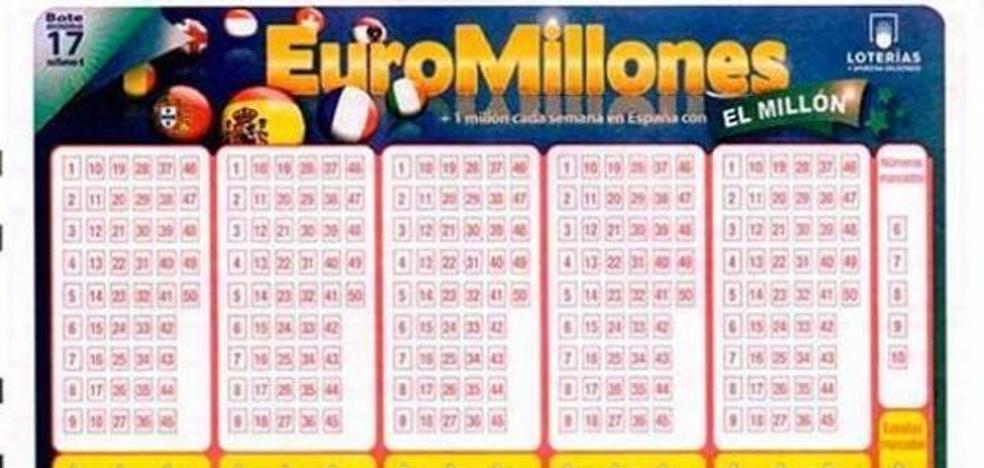 El sorteo del Euromillones deja un premio de más de 223.000 euros en Valladolid