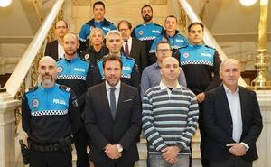 Nueve subinspectores y oficiales de la Policía Local de Valladolid toman posesión de sus nuevos cargos