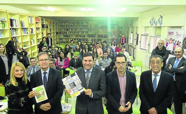 Fernández Carriedo, durante la presentación de la campaña./LAYA