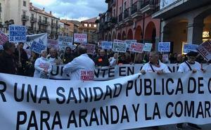 8.000 personas se manifiestan en Aranda de Duero para reivindicar una sanidad de calidad