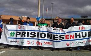 La huelga en la cárcel de Segovia impide las visitas de familiares a presos