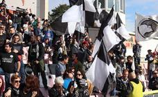 Partido entre Burgos CF y Unionistas