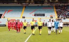 Partido entre Salamanca CF y Real Madrid Castilla