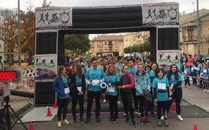 Miróbriga se mueve por la diabetes con récord de participantes en las calles