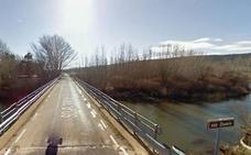 Cortes en la carretera de Almarail por los trabajos de acondicionamiento y refuerzo del puente sobre el río Duero