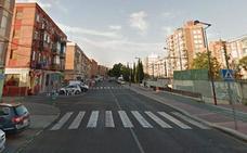 Una joven herida en un atropello en la calle Salud de Valladolid