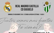 El CD Guijuelo organiza viaje de aficionados a Valdebebas ante el Real Madrid Castilla