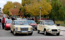 Concentración de coches clásicos en Baltanás