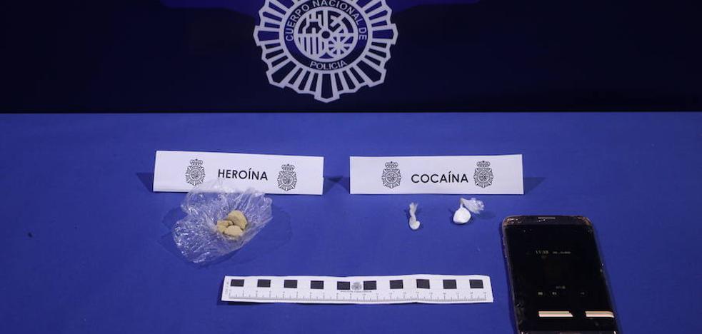 Desmantelan un punto de venta de droga y detienen a cinco personas en Valladolid