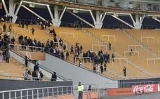 Evacuan un estadio en Argentina por una granada oculta en las gradas