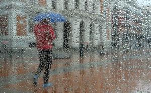 Semana de lluvias débiles con máximas por debajo de la media pero con mínimas más altas de lo normal