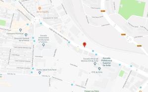 La Policía investiga la muerte de un hombre en la vía pública en Ávila