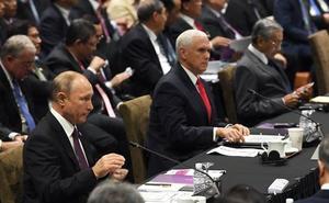 Putin a Pence: «Rusia no tiene nada que ver con la injerencia en las elecciones de EE UU»