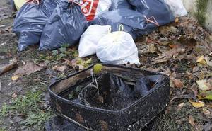 La basura del Carrión hace las maletas en Palencia