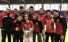 Un bronce y un quinto puesto para el Doryoku salmantino en la Copa de España sénior de judo