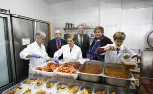 El Comedor de los Pobres entrega más de 8.500 kilos de alimentos cada mes