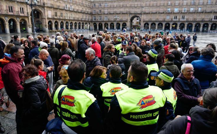 Salamanca se vuelca en la búsqueda de José Antonio