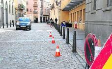 Menos plazas para aparcar en el casco antiguo