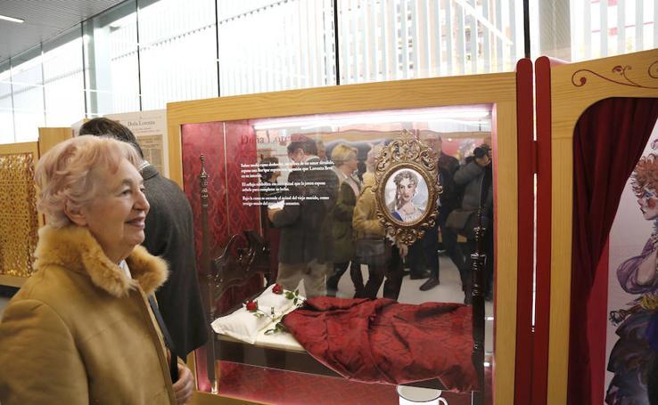 Exposición sobre Cervantes en el Lecrac