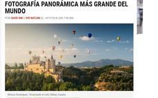 'Newsweek' traslada el Alcázar de Segovia a Bilbao