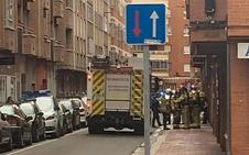 Susto por un escape de gas en la calle Urraca de Valladolid