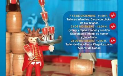 Pagos del Rey Museo del Vino acoge una exposición del ambiente circense con clicks de Playmobil