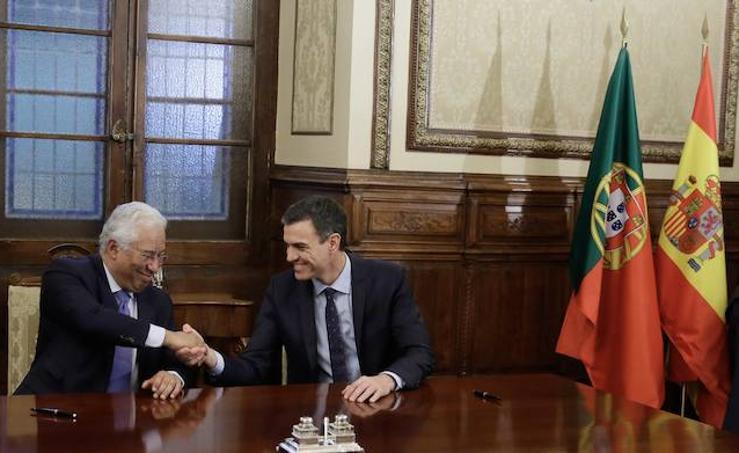 Comparecencia de Pedro Sánchez y Antonio Costa tras la Cumbre Hispano-Lusa de Valladolid