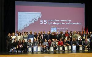 Veinte finalistas a los Premios Salina del Deporte Salmantino 2018