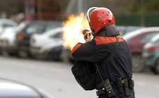 Policías del 1-O justifican el uso de pelotas de goma por el «odio» de los votantes