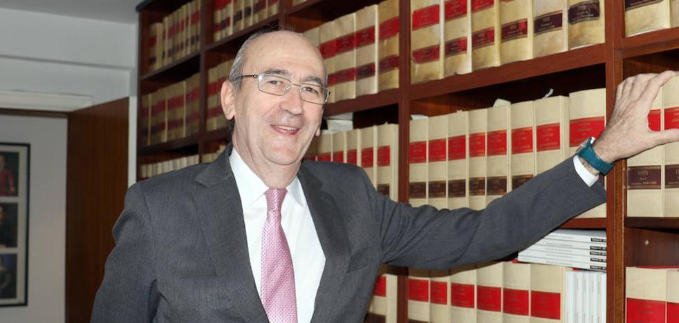 José María Tejerina: «Puedo imaginar un ordenamiento jurídico sin leyes, pero no sin jueces»