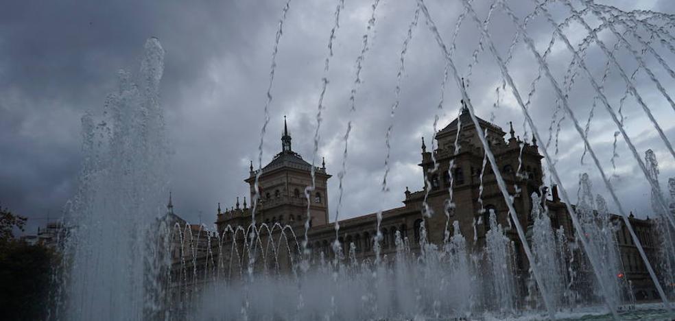 Fin de semana lluvioso pero sin heladas en Valladolid