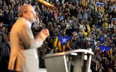 El sí a la independencia vuelve a repuntar en Cataluña