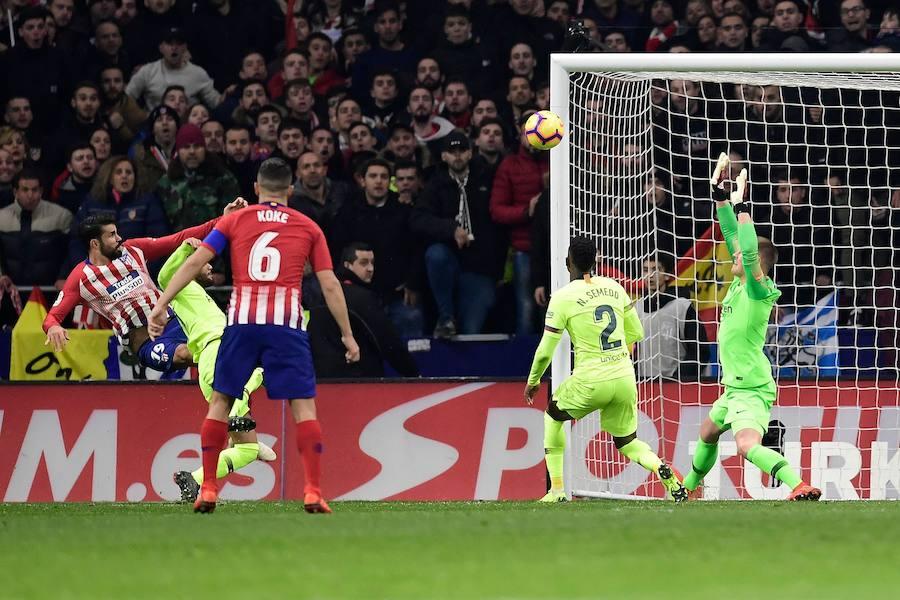 Las mejores imágenes del Atlético-Barcelona