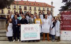 Medina de Rioseco reúne a jóvenes europeos en torno a la gastronomía de Navidad