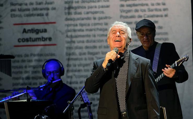 Concierto de Víctor Manuel en el Auditorio Miguel Delibes de Valladolid
