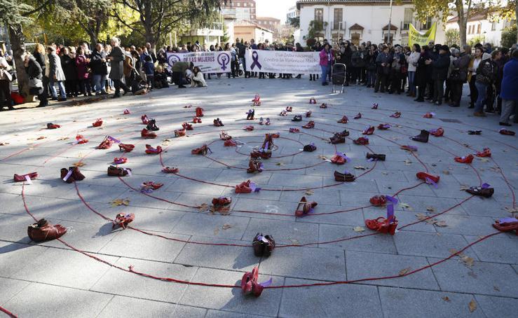 Palencia se manifiesta contra la violencia de género