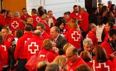 Los voluntarios de Cruz Roja en Castilla y León son «superhéroes»