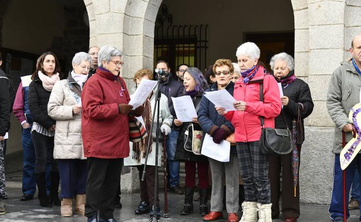 Actos contra la violencia de género en El Espinar