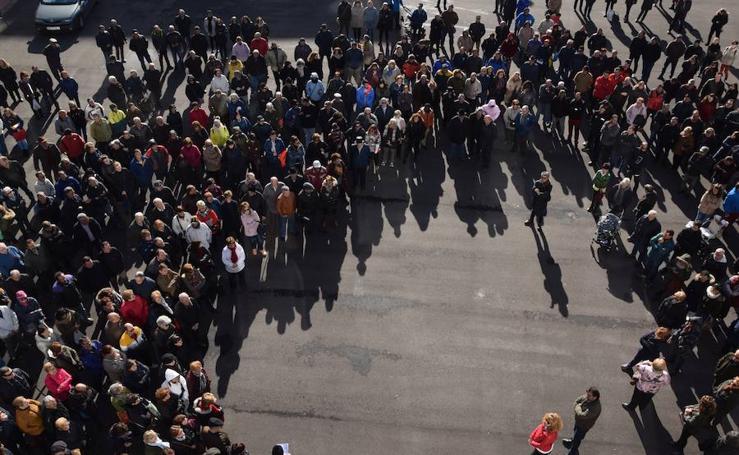 Protesta en Guardo por el cierre del matadero municipal